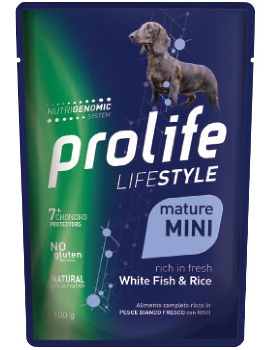 Cane Mature Pesce e Riso 100 gr Prolife
