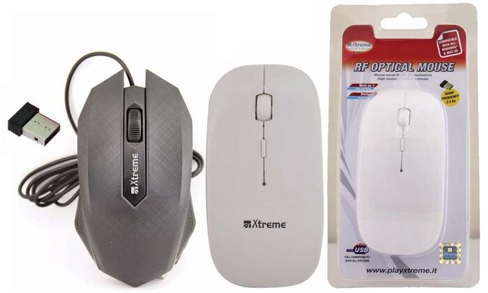 XTREME MOUSE 2T+SCR USB OPT wireless