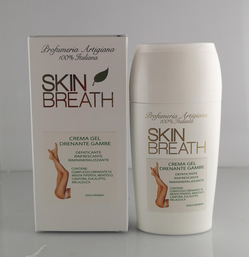 SKIN BREATH CORPO GEL DRENANTE GAMBE 200 ML