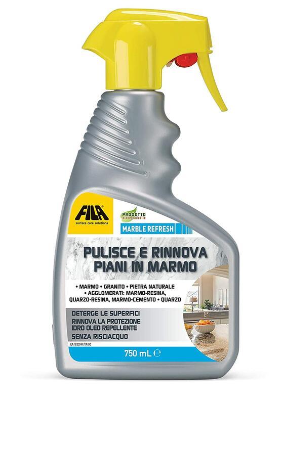 Detergente spray protettivo per marmo granito 750 ml FILAREFRESH MARBLE REFRESH
