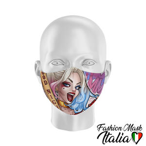 Fashion Mask Harley Quinn