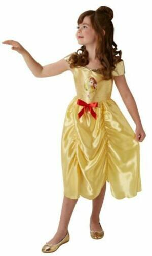 Costume Belle Disney Princess - Rubie's 640691 - Small 7-8 anni