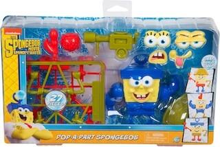 POP-A-PART SPONGEBOB OUT OF WATER NICKELODEON JUST PLAY