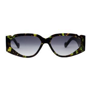 Wipe Green Leopard - Occhiali da Sole