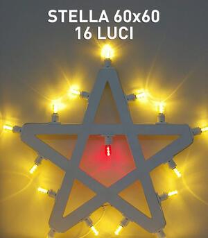 STELLA 60x60 16 LUCI - LUMINARIA SALENTINA D'ARREDO
