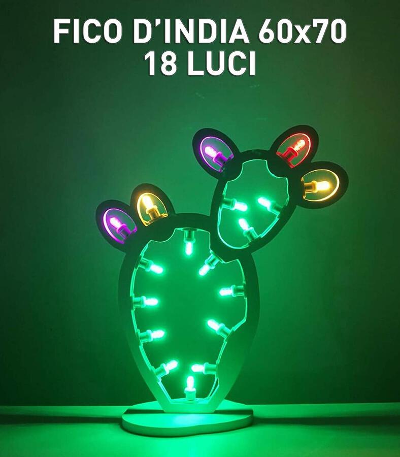 FICO D'INDIA 70x60 20 LUCI - LUMINARIA SALENTINA D'ARREDO