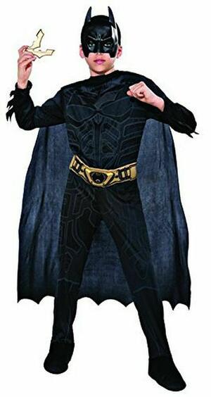 Costume Batman Dark Knight - Rubie's 880055 - Medium 5-7 anni