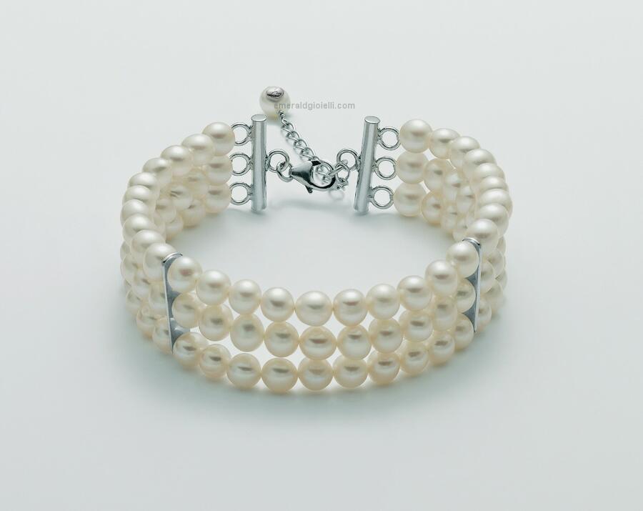 pbr2435 Bracciale di Perle Miluna -