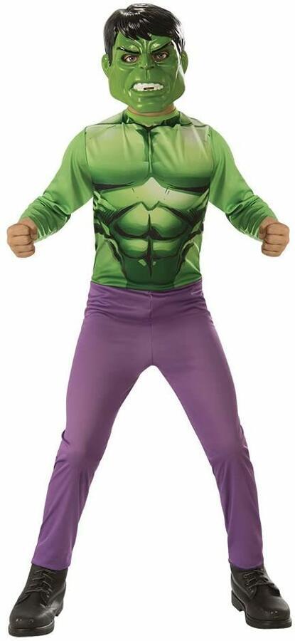 Costume Avengers Hulk con maschera - Rubie's 640922 - Medium 5-7 anni