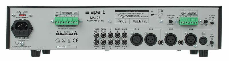Apart MA125