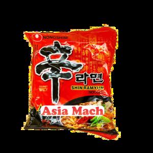 NS BAG SHIN RAMYUN NOODLE HOT&SPICE 120GR