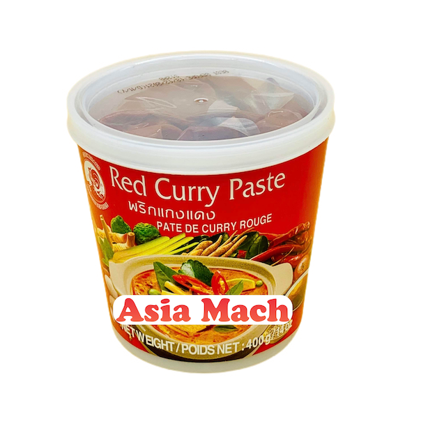 CQ CURRY ROSSO PASTOSO 400GR