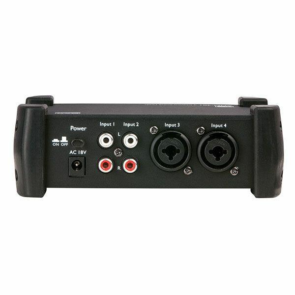 DAP AMM-401 Mixer attivo a 4 canali