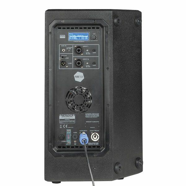 """DAP PURE-10A 10"""" FULL RANGE TOP CABINET WITH DSP"""