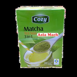 COZY MATCHA MILK TEA 3IN1 306GR