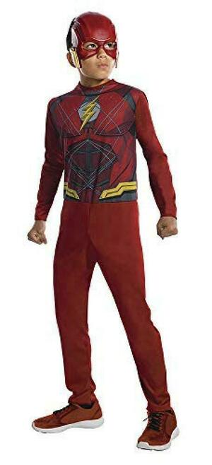 Costume THE FLASH - Rubie's 620551 - Large 8-10 anni