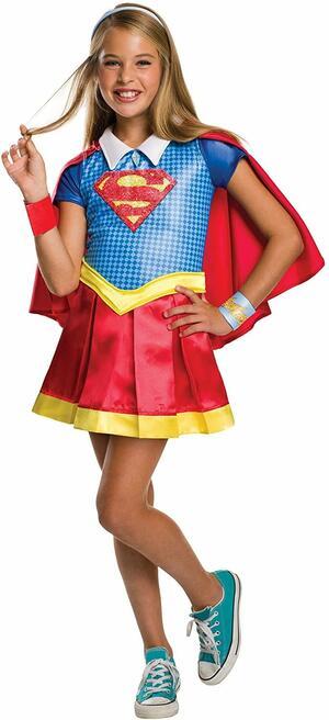 Costume SUPER GIRL - Rubie's 620714 - Large 8-10 anni
