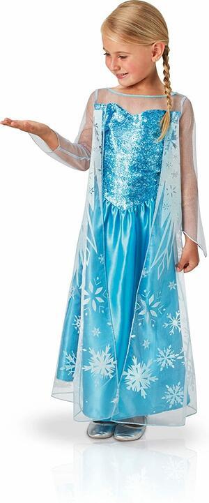 Costume Frozen ELSA - Rubie's 610975 - Small 3-4 anni