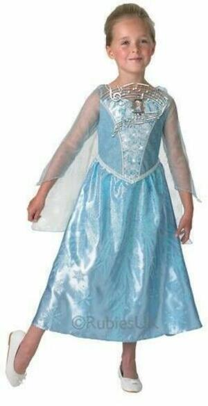 Costume Frozen ELSA - Rubie's 610361 - Medium 5-7 anni