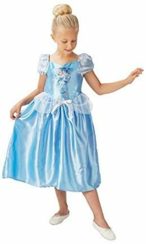 Costume Disney Princess Cenerentola - Rubie's 620640 - Large 7-8 anni 128 cm