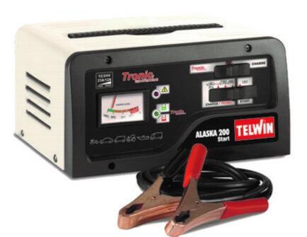 Caricabatteria Telwin ALASKA 200 START Mantenitore Carica Batteria Auto Moto 12 - 24 V
