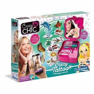 Crazy Chic Tatuaggi Animati - Clementoni 15147 -7+ anni