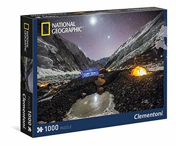 Puzzle - Champ Omn the Nepal Side of Everest 1000 pz - Clementoni 39310 - 3+ anni