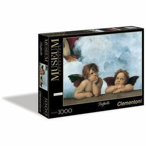 Puzzle Raffaello Madonna Sistina 1000 pz - Clementoni 31437 - 7 + anni