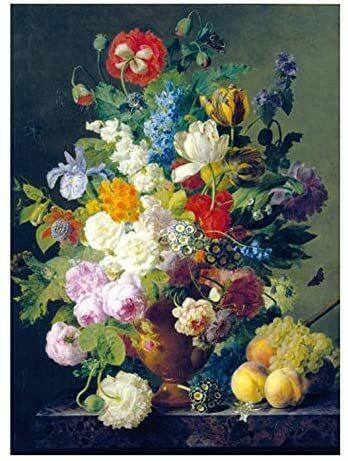 Puzzle Van Dael Vaso di Fiori Louvre Museum - Clementoni 31415 - 7+ anni