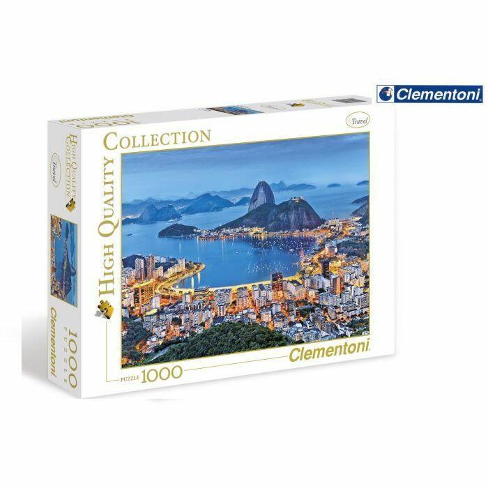 Puzzle Rio de Janeiro 1000 pz - Clementoni 39258 - 7+ anni