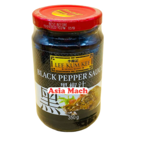 LKK SALSA BLACK PEPPER 350GR