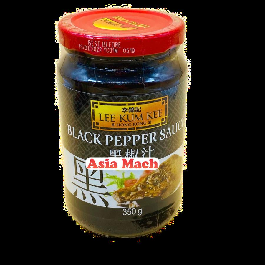 LKK SALSA BLACK PEPPER 350GR