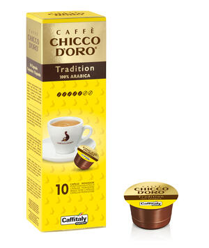 10 CAPSULE CAFFITALY CHICCO D'ORO TRADITION