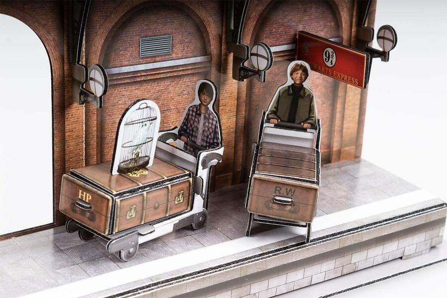 Puzzle 3D Harry Potter Hogwarts Express 180 pz - CubicFun DS1010h - 8+ anni