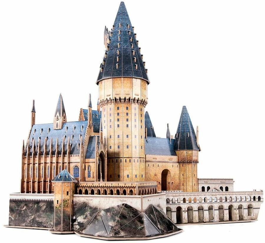 Puzzle 3D Harry Poter Hogwards Great Hall - CubicFun DS1011h - 8+ anni