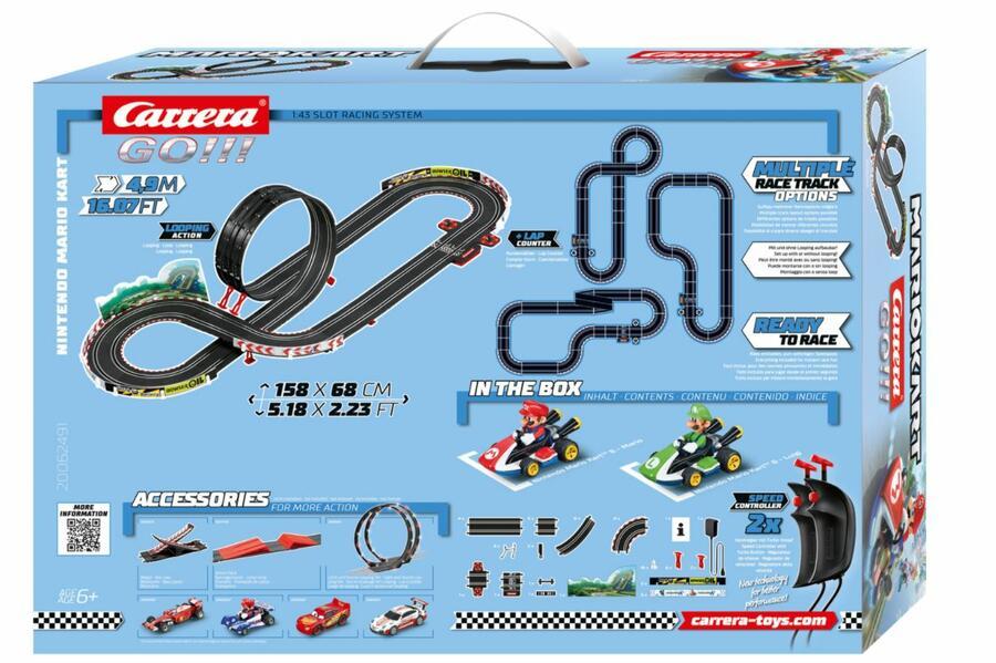 Autopista Elettrica Carrera GO!!! Nintendo Mario Kart 8