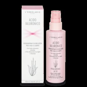 L'Erbolario - Acido ialuronico Acquaspray di belelzza viso e corpo