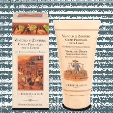 L'Erbolario - Vaniglia e Zenzero Crema corpo