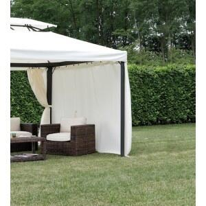 Set 4 tende laterali per Gazebo 3 x 6 in poliestere idrorepellente AC 064