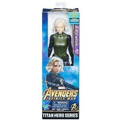 AVENGERS 30 CM BLACK WIDOW TITAN HERO SERIES HASBRO