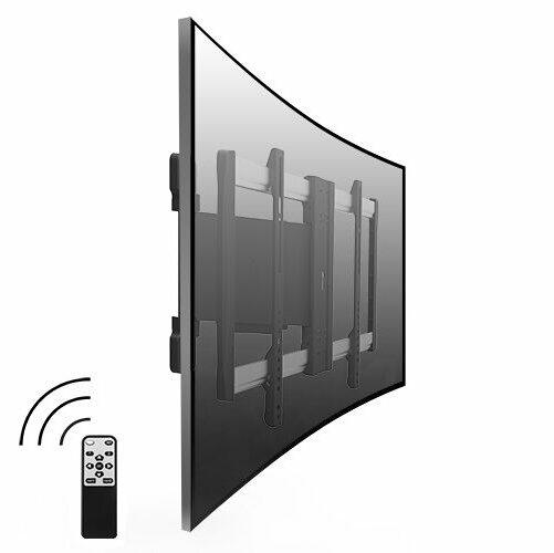 "Lithe Audio Motorised Curved & Flat Panel TV Wall Mount - 32""/60"""