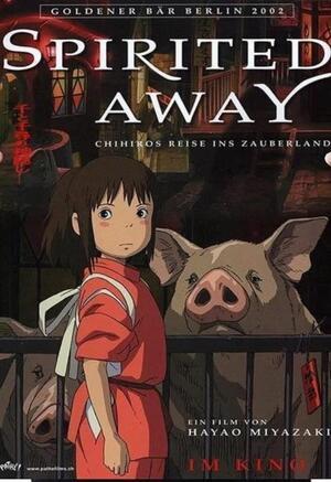 Poster Film Miyazaki: SPIRITED AWAY (LA CITTÀ INCANTATA), Locandina
