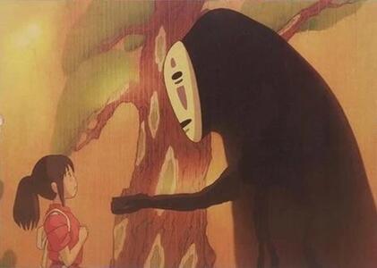 Poster Film Miyazaki: SPIRITED AWAY (LA CITTÀ INCANTATA), SEN AND NO FACE