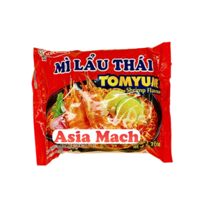 ACK INSTANT NOODLES SHRIMP (MI LAU THAI) 83GR