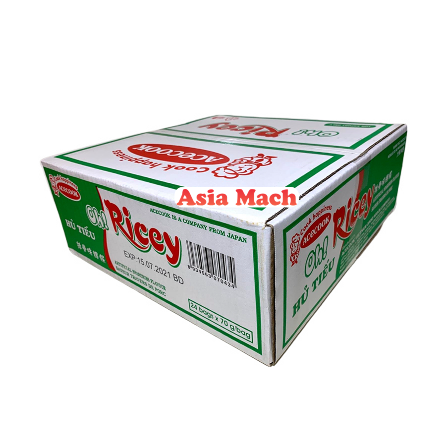 OR INSTANT RICE NOODLE SPARARIBS (HU TIEU) 24X70GR