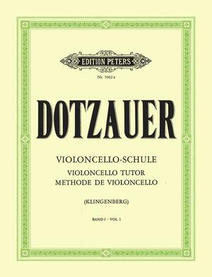 DOTZAUER MEDODO VOL.1 - Violoncelloschule 1