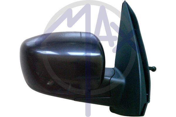 Specchio Retrovisore Destro Manuale Nero Hyundai I10 dal 2008 al 2011