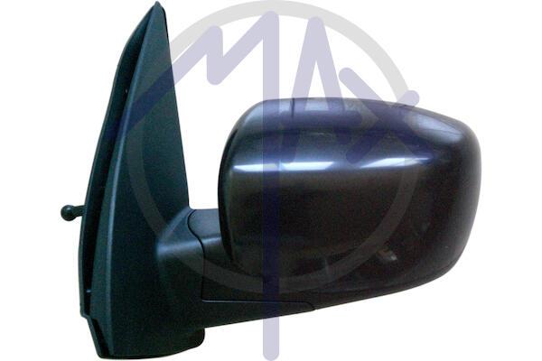 Specchio Retrovisore Sinistro Manuale Nero Hyundai I10 dal 2008 al 2011