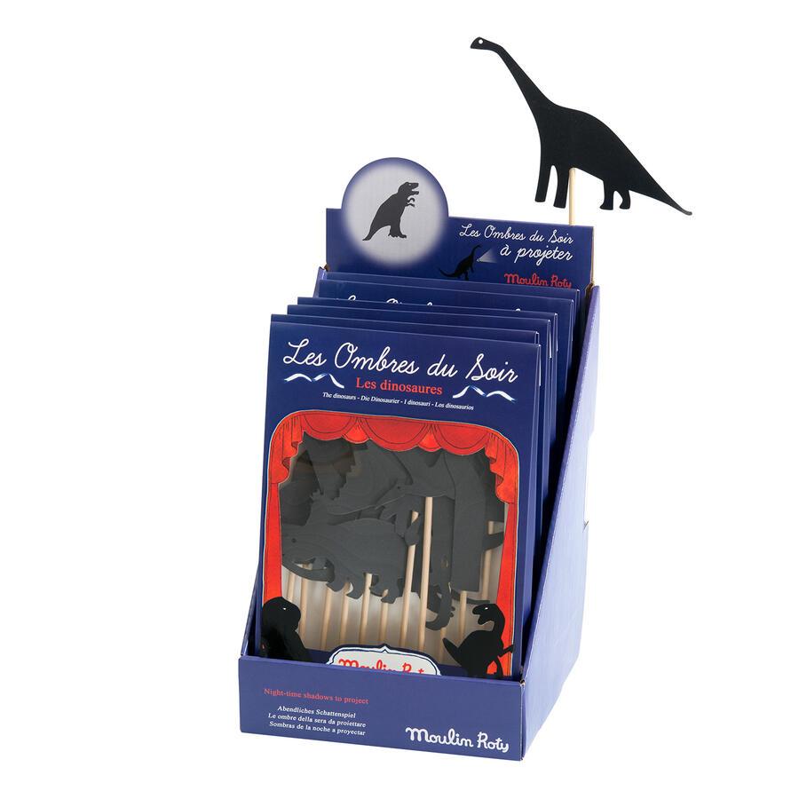 Ombre della sera Dinosauri