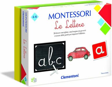Montessori - Le lettere - Clementoni 16098 - 4-6 anni